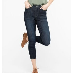 "Democracy ""Ab"" Solution Crop High-Rise Jeans"